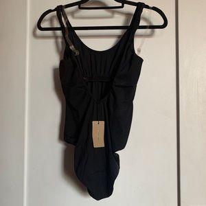 RACHEL COMEY Wylde Black One Piece Swimsuit